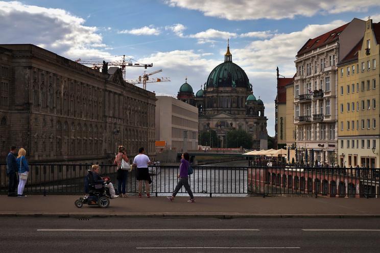 Blick auf den Berliner Dom, 2016