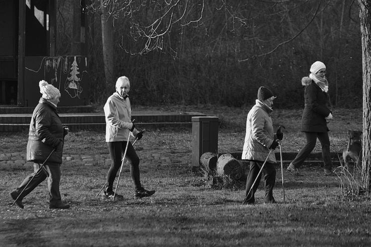 Nordic Walking ohne Altersbegrenzung, 2018
